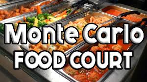 monte carlo cuisine monte carlo las vegas food court tour