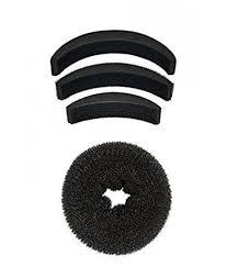 hair puff accessories majik combo of hair accessories hair puff and hair donut set of 4