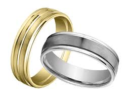 gold band gold wedding bands