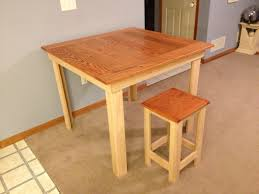 Wooden Bar Stool Plans Free by Ana White Pub Table Stools Diy Projects