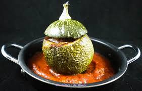 cuisiner des courgettes rondes courgettes rondes farcies à l italienne les délices de mimm
