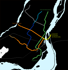 Montreal Metro Map File Metro Montreal Geographical Map 1984 Png Wikimedia Commons