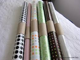 gift wrap paper rolls cherry blossoms and chai diy gift wrap savor