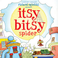 itsy bitsy spider book by richard egielski official publisher