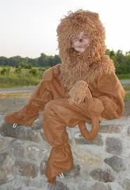 Cowardly Lion Costume Page Title
