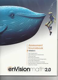 envision math 2 0 assessment sourcebook grade 5 amazon com books