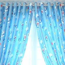 Curtain Cartoon by Curtains Children Room Blue Cartoon Boy Finished Custom
