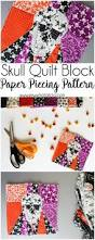 halloween fabric crafts 103 best paper piecing sewing tutorials images on pinterest