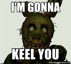 Trinity Meme - springtrap meme by little trinity gamin on deviantart