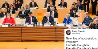 Trump S Favorite President This Is What Happened When President Trump U0027s Daughter Took His G20