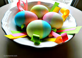 Hard Boiled Eggs For Easter Decorating Double Dying Hard Boiled Eggs Makes Them Extra Special Ducks