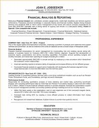 Example Of Resumes 6 good example of resume basic job appication letter