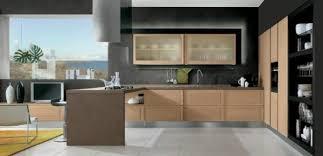 cuisine en bois moderne la cuisine bois et noir c est le chic sobre raffiné archzine fr