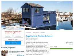 airbnb houseboats dishonest party folk sink celebrity chefs far rockaway airbnb houseboat