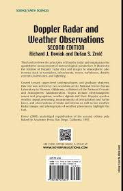 doppler radar and weather observations second edition dover