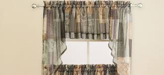 Kitchen Curtain Fabric by Choosing Kitchen Curtains Groomed Home