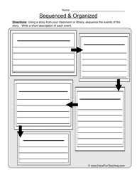 Havefunteaching Com Math Worksheets Sequence Worksheets Teaching