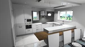 cuisine 9m2 avec ilot plan de cuisine en u plan cuisine en l avec ilot idee peinture