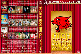 high school high dvd high school musical collection dvd cover 2006 2008 r1 custom