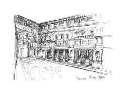 italy u2013 collected sketches u2014 candalepas associates