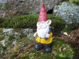 garden gnome concrete gnome with pick axe cement gnomes
