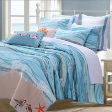 amazon com nautical blue 100 percent cotton bedding quilt and