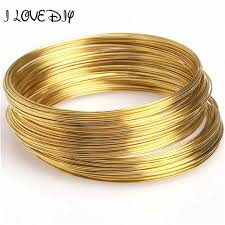 bangle charm bracelet diy images 0 6mm 100 loops round memory steel wire for charm cuff bangle jpg