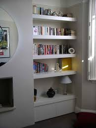 living room storage shelves living room floating shelves chubby floating shelf alcove cupboard by peter henderson furniture