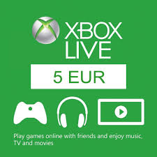 5 euro card eu xbox live code compare prices