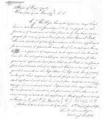 Disability Appeal Letter Daniel Peck U0027s Disability Papers Fenton History Center