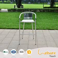 wholesale products aluminum restaurant bar stool high chair