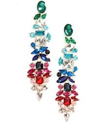 statement earrings great deals on stella ruby dynasty statement earrings