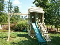 Backyard Swing Ideas Best 20 Wooden Playset Ideas On Pinterest Backyard Playground Big