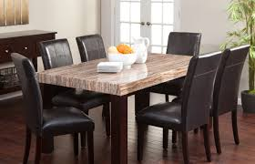 furniture awesome custom dinette sets with crosswise pedestal