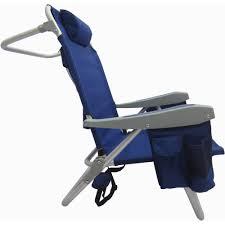 Rio 5 Position Backpack Chair 5 Position All Purpose Beach Chair Blue Walmart Com