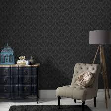 graham u0026 brown vintage flock removable wallpaper 30 157