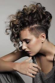 different hair styles for short curly hair in tamil best 25 short curly mohawk ideas on pinterest curly mohawk