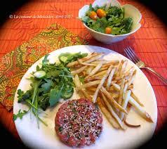cuisine asiatique boeuf la cuisine de messidor tartare de boeuf à l asiatique