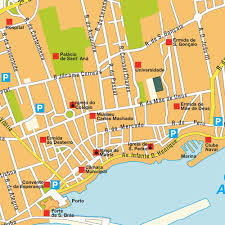Azores Map Map Ponta Delgada Portugal Maps And Directions At Map
