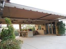 Homemade Retractable Awning Proper Awnings For Decks Cement Patio