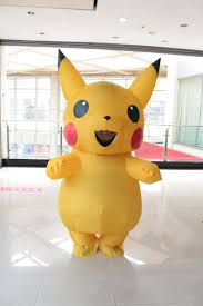 pikachu inflatable costume large mascot cosplay spirit