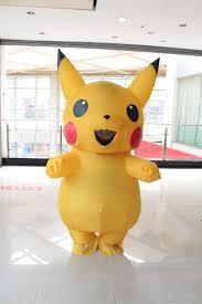 mario and luigi costumes spirit halloween pikachu inflatable costume large mascot cosplay spirit
