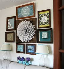 wood framed wall wood frame gallery wall christinas adventures