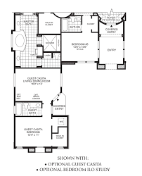 house plans with detached casitas