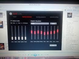Sound Equalizer For Windows Beats Audio Fluctuates On Dv6 70xx U0026 Dv7 70xx Model Notebook