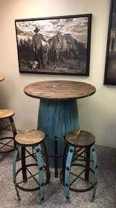 Barrel Bar Table The Saving Place
