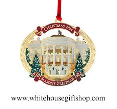 the white house ornaments in one set 2014 white house gift shop