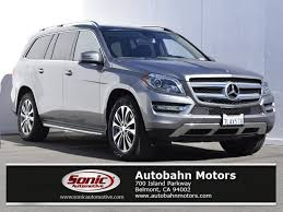 mercedes suv used certified used 2015 mercedes gl class for sale in belmont ca