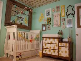 chambre enfant vintage chambre enfant déco chambre bébé fille style vintage jaune vert
