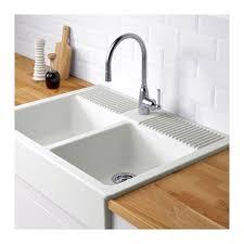 white double kitchen sink white apron front sink contemporary domsjö double bowl ikea
